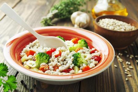 диета на каше и овощах
